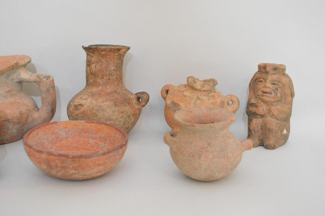 COLLECTION OF 14 PRE-COLUMBIAN ARTIFACTS - Includes: a - 2