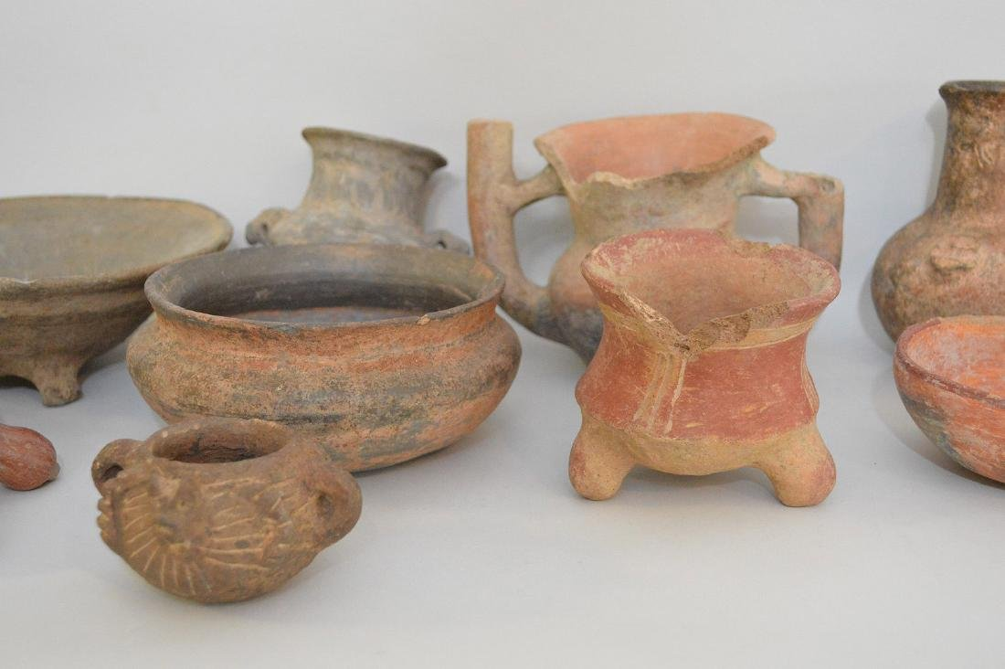 COLLECTION OF 14 PRE-COLUMBIAN ARTIFACTS - Includes: a - 3