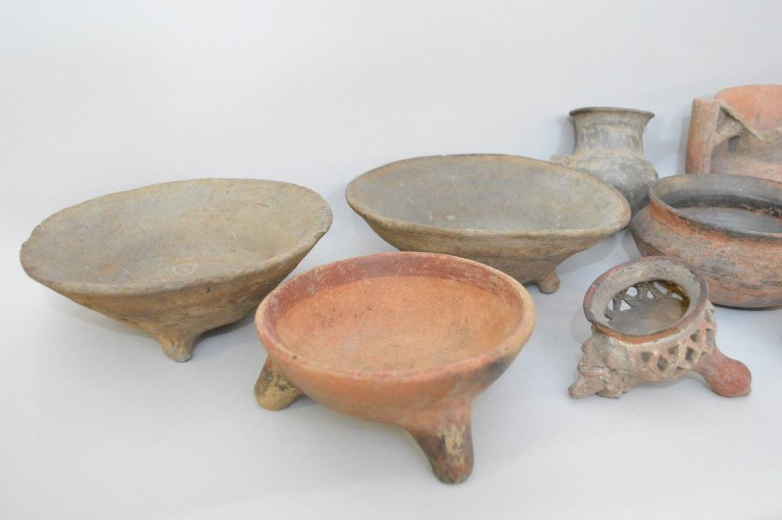 COLLECTION OF 14 PRE-COLUMBIAN ARTIFACTS - Includes: a - 4