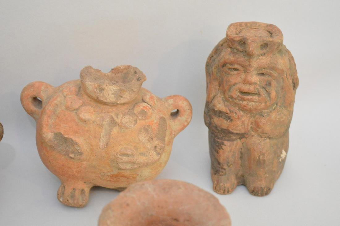 COLLECTION OF 14 PRE-COLUMBIAN ARTIFACTS - Includes: a - 5