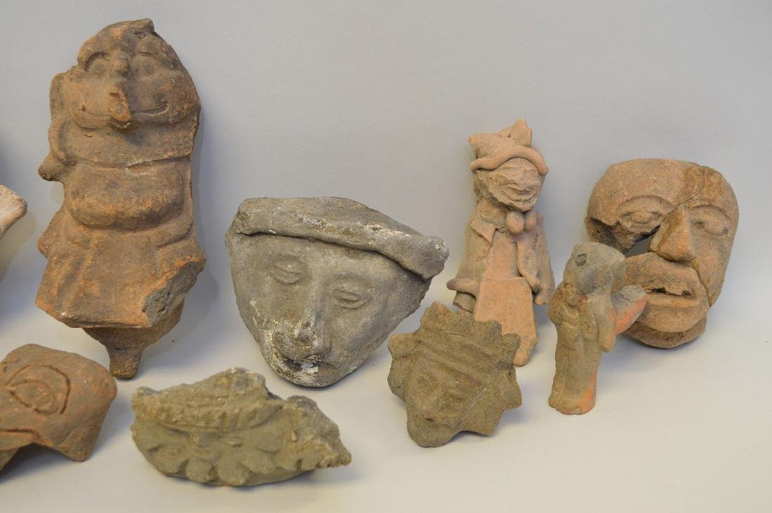 COLLECTION OF 18 PRE-COLUMBIAN EFFIGY ARTIFACTS - Each - 2
