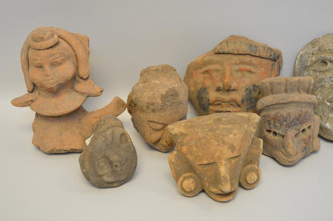 COLLECTION OF 18 PRE-COLUMBIAN EFFIGY ARTIFACTS - Each - 3