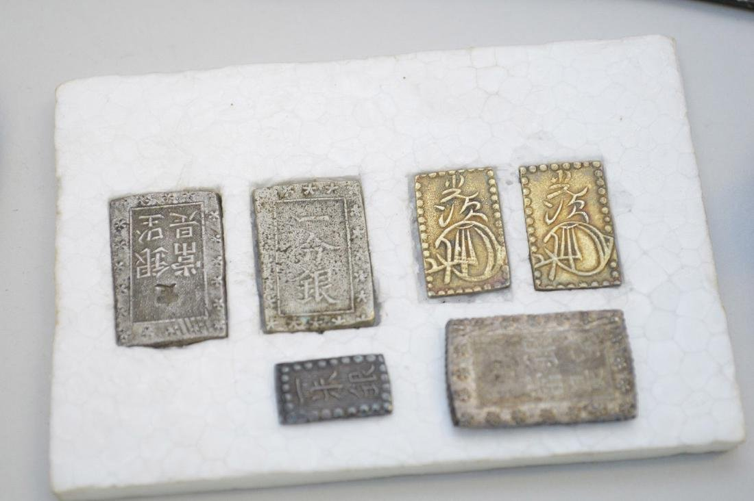 LOT OF CHINESE SWORD MONEY, COINS & JAPANESE ICHIBUBAN - 2