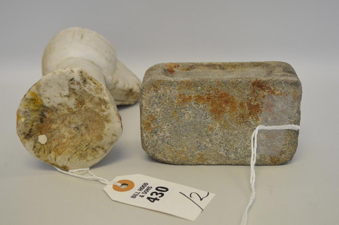 WO EARLY CHINESE RITUAL STONE ARTICLES - One is a - 5