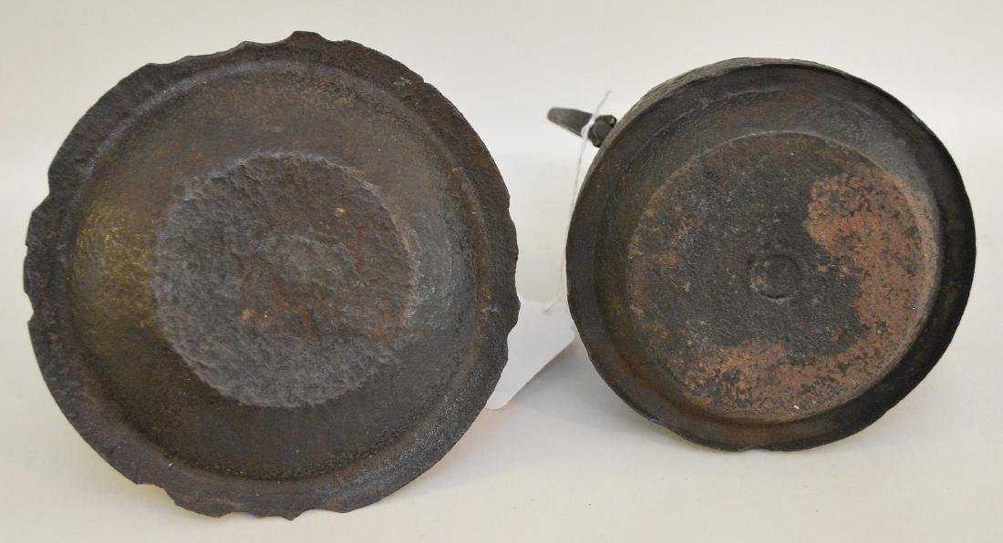 TWO EARLY JAPANESE CAST IRON TEAPOTS - Includes: Horse - 7