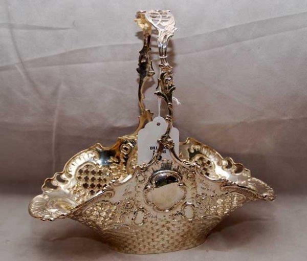 2003: Continental silver basket, 1886-1922, ( 800 Fine)