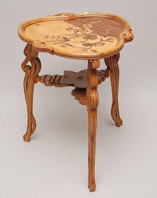 2014: Inlaid marquetry table