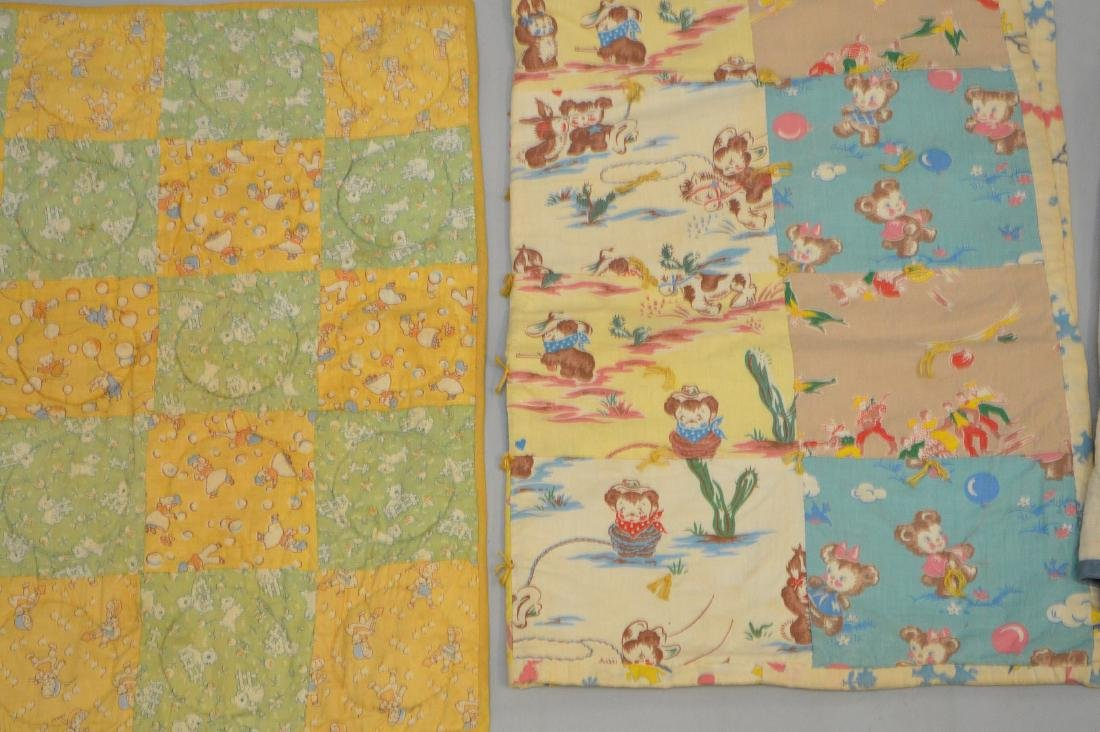Lot of quilts, incl; child's quilts, doll size quilts, - 2