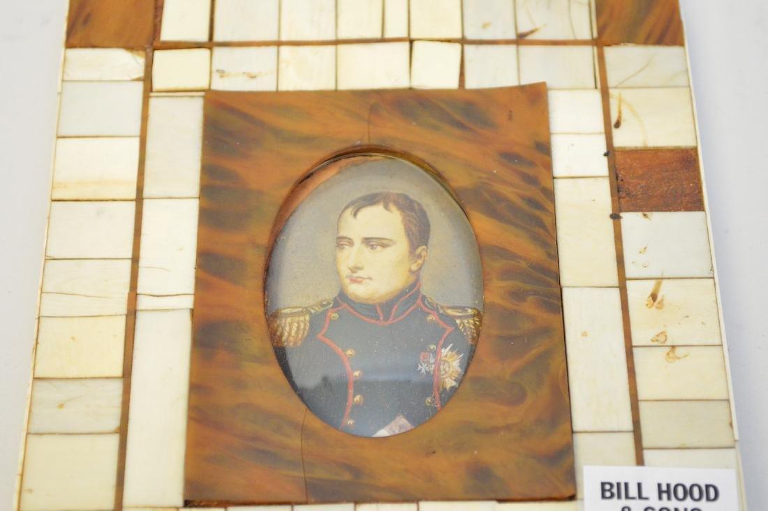 "Miniature painting of Napoleon, 4 3/4"" x 5 1/2"" - 2"