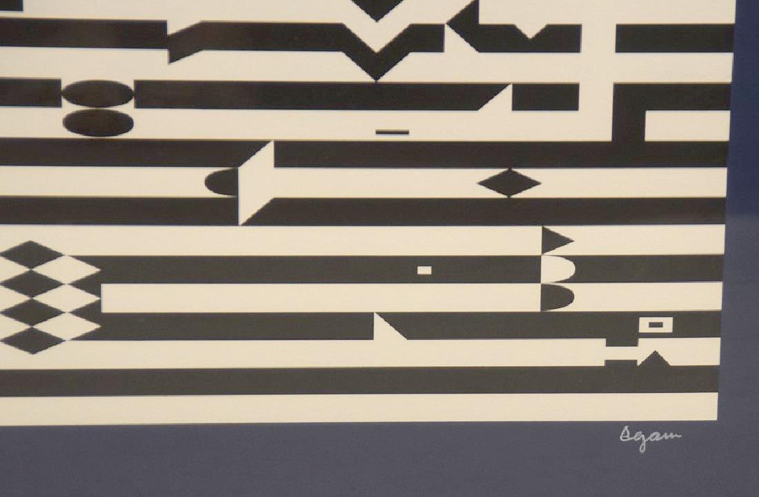 Yaacov Agam, ( Israeli, born 1928) Lithograph 48/99, - 2