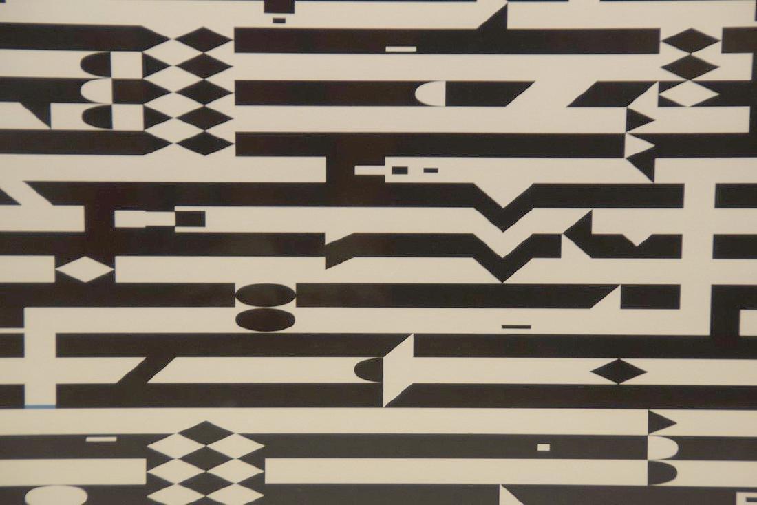 Yaacov Agam, ( Israeli, born 1928) Lithograph 48/99, - 3