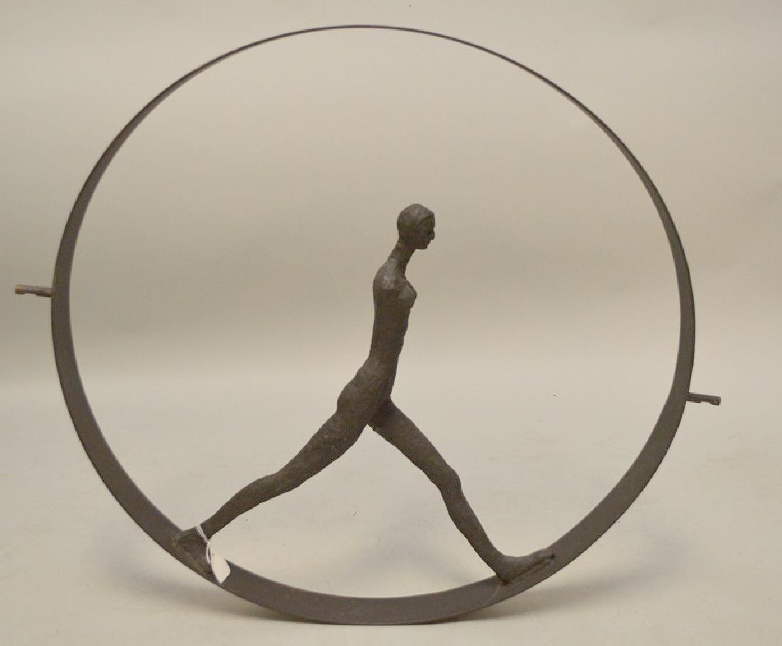 Metal Industrial wheel with figure, manner of