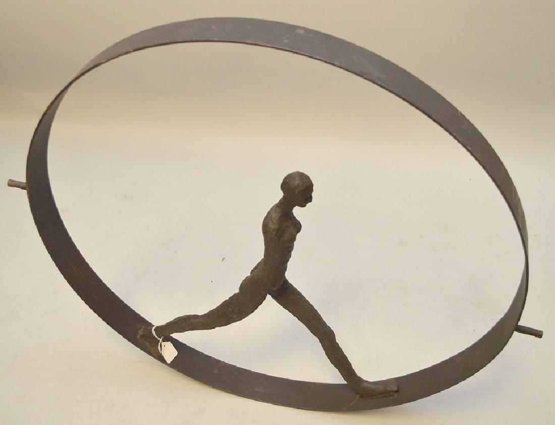 Metal Industrial wheel with figure, manner of - 4