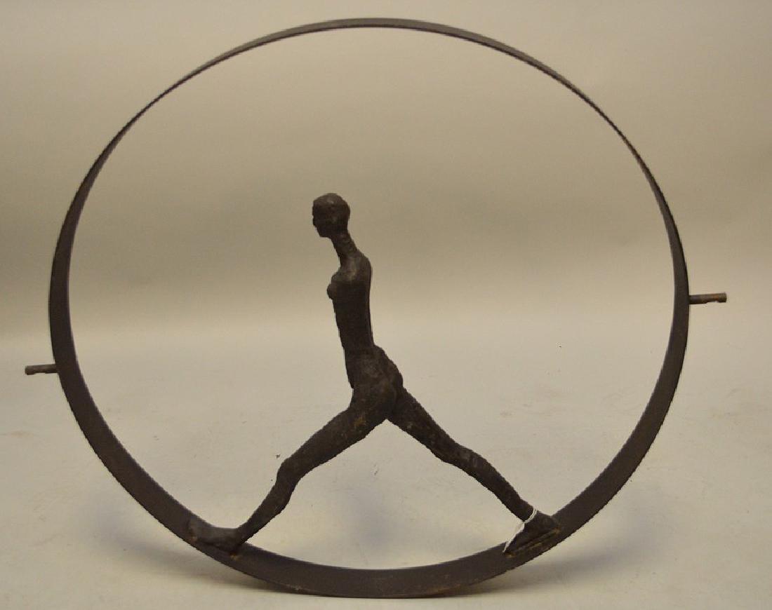 Metal Industrial wheel with figure, manner of - 6