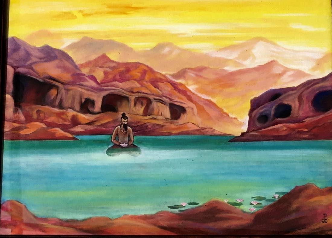 Russian Painting Attributed to Nikolai Roerich - 2