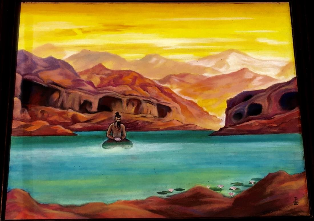 Russian Painting Attributed to Nikolai Roerich - 3