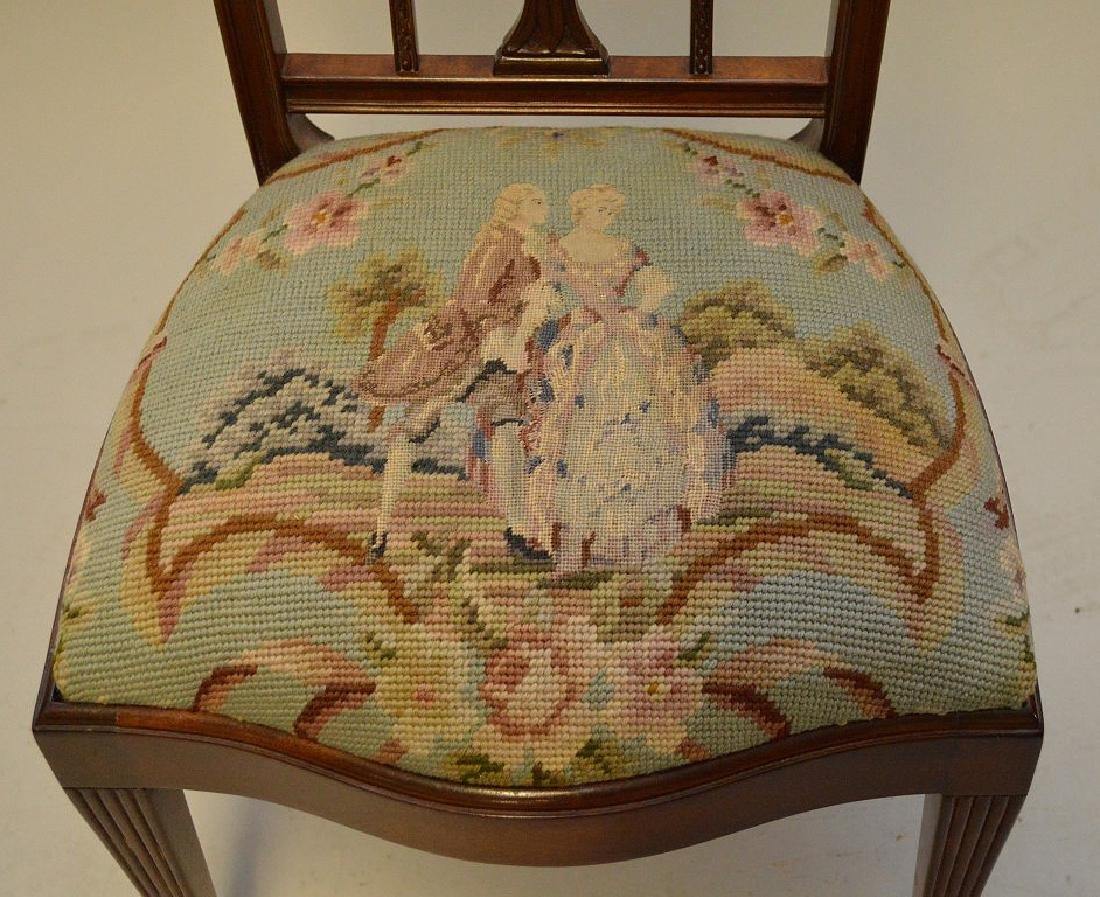 Mahogany child's chair  needlepoint by Smith & Watson - 2