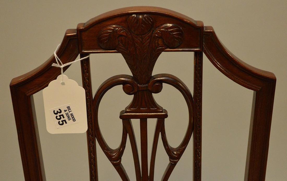 Mahogany child's chair  needlepoint by Smith & Watson - 4