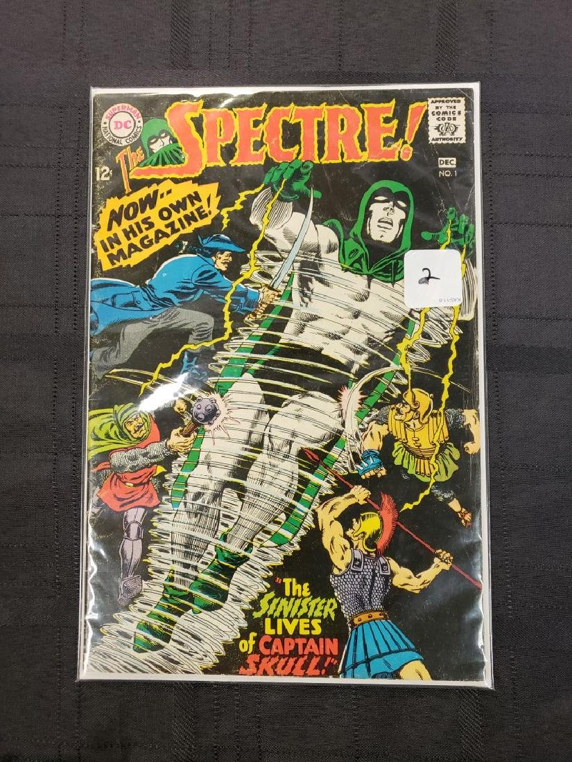 """""""The Spectre"""" Superman National DC Comics """"The Sinister"""