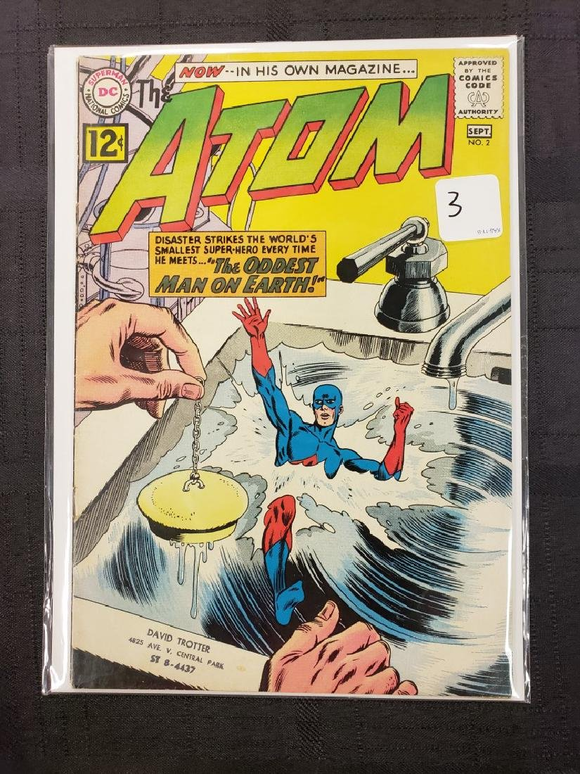 """The Atom"" Superman National DC Comics Sept. #2 1962;"