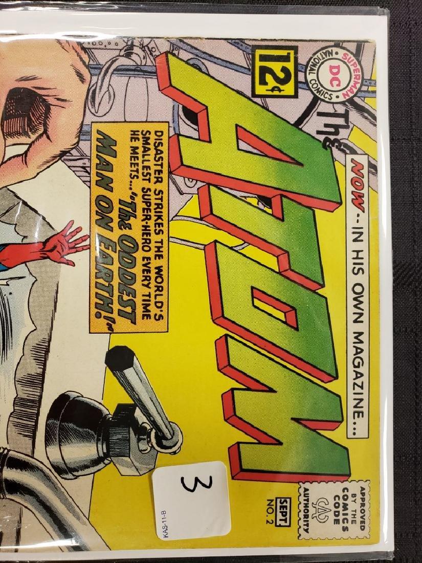 """The Atom"" Superman National DC Comics Sept. #2 1962; - 2"