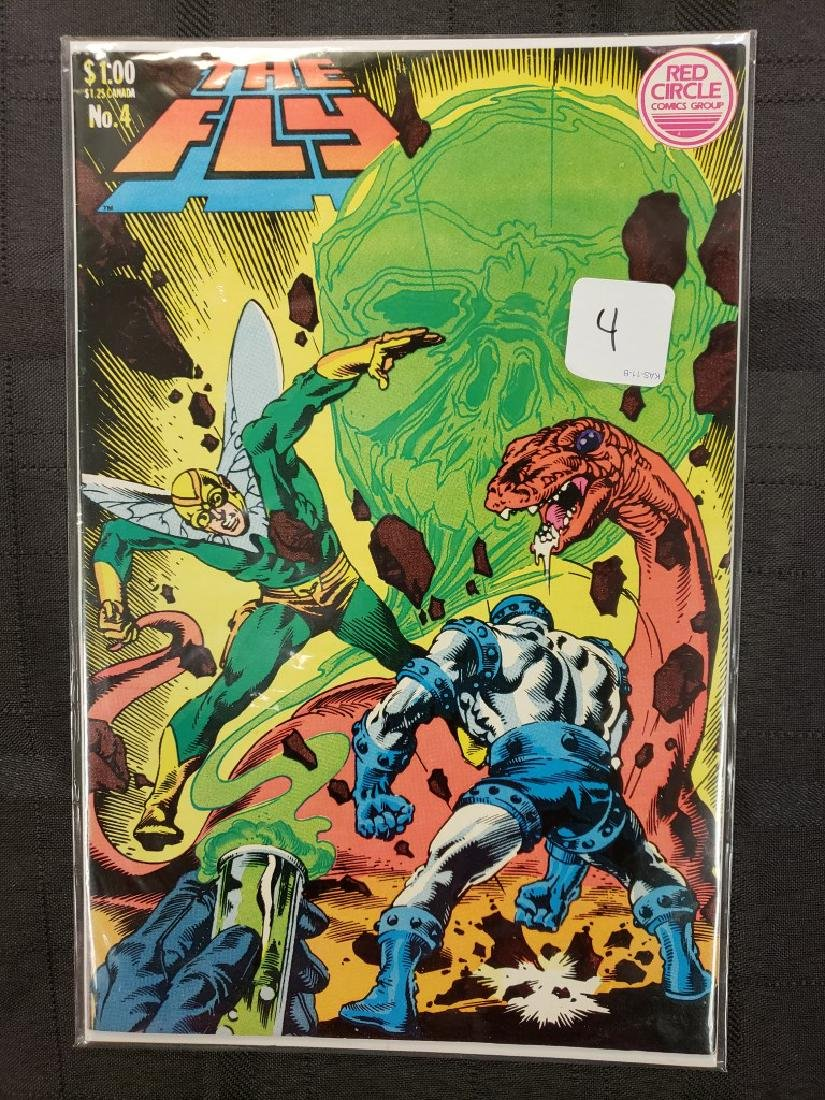 """""""The Fly"""" Red Circle Comic Group Dec. 1983 Volume 1 #4,"""