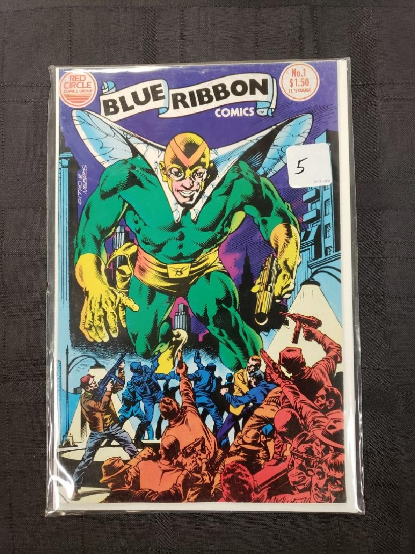 """Blue Ribbon Comics"" Red Circle Comic Group Volume 2 #1"