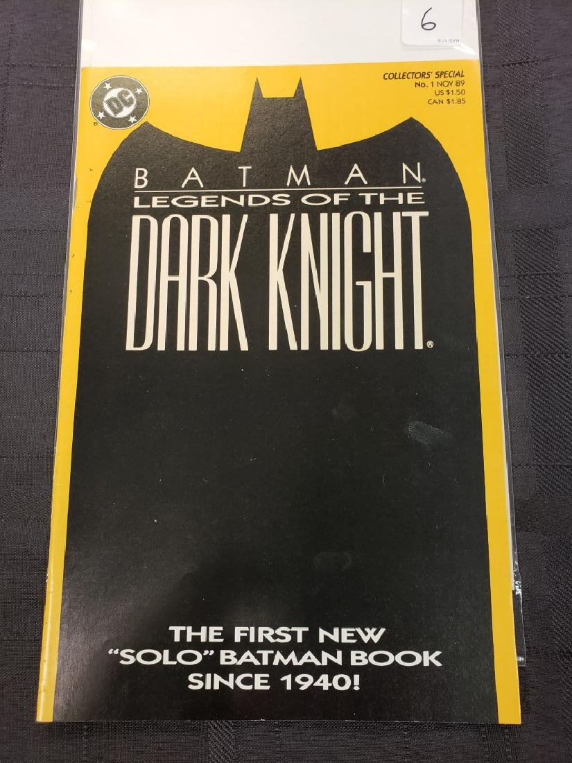 """Collector Special DC Comics #1 Nov. 1989 Batman """"The"""