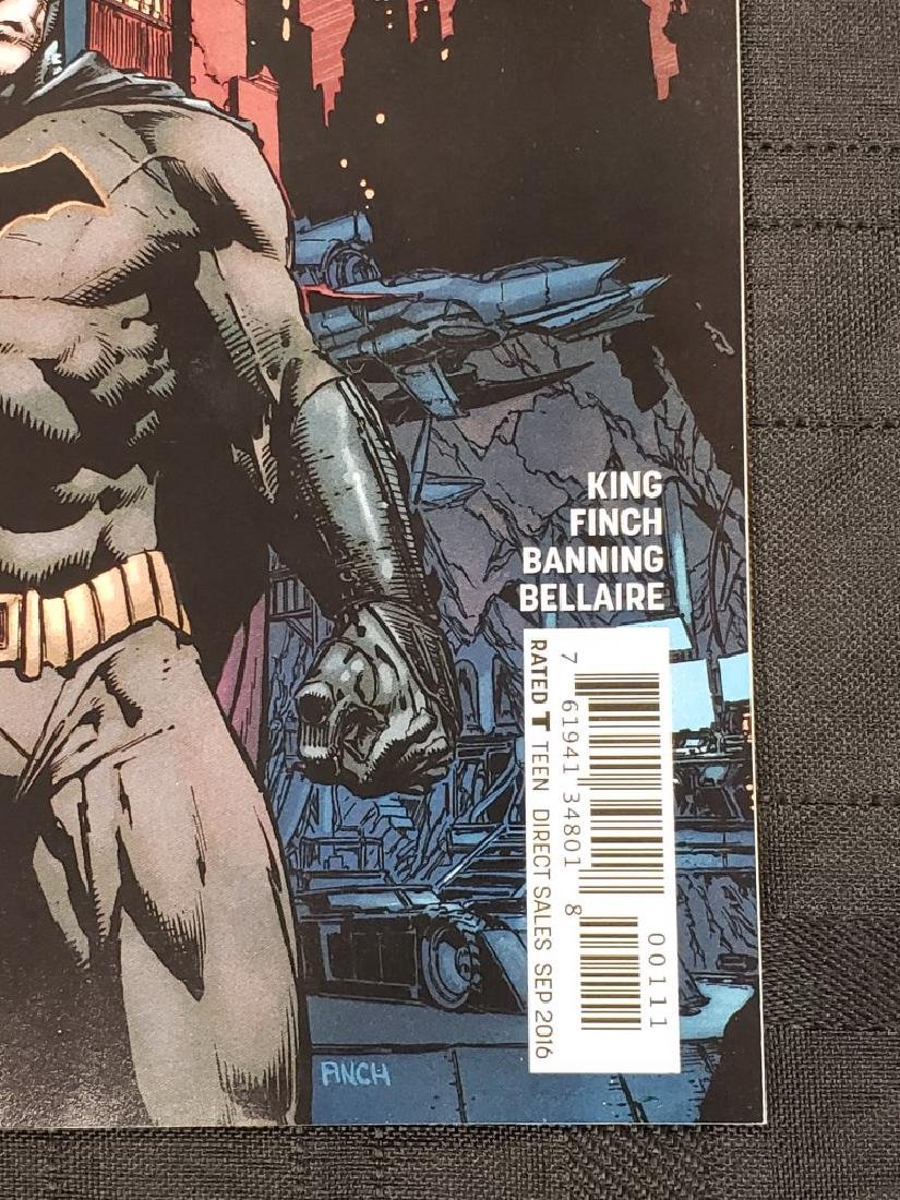"DC Universe ""Rebirth Batman"" Sept. 2016 #1; Condition: - 3"