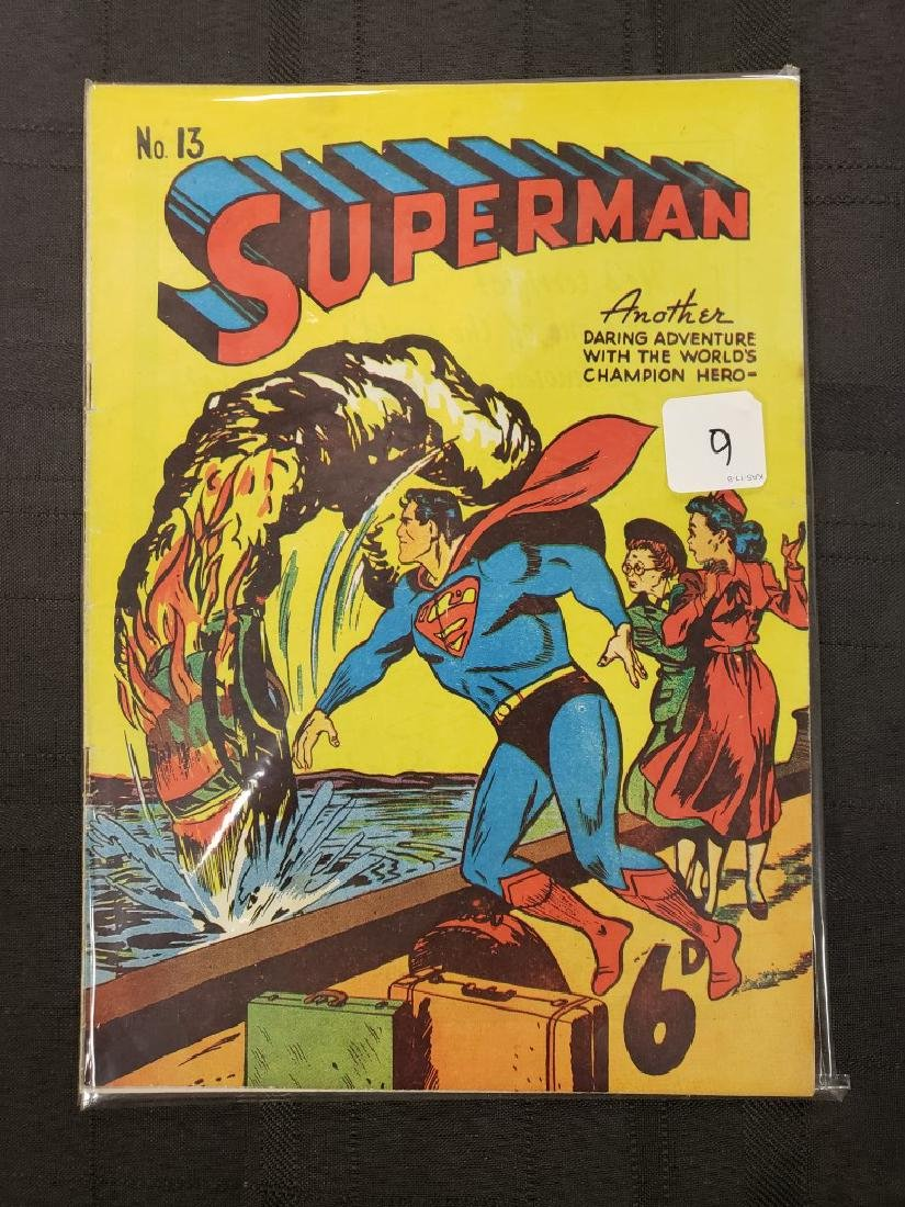 """""""Superman #1"""" Another Daring Adventure with World's"""