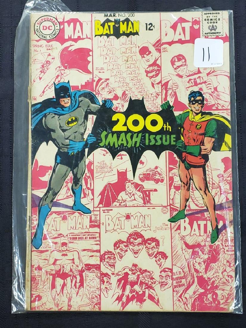 """DC Comic """"Superman 200th Smash Issue"""" March #200 Spring"""