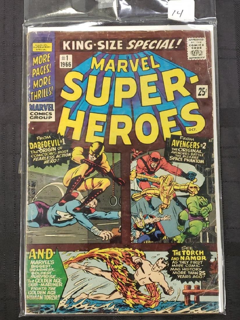 """Marvel Super-Heroes """"King Size Specials"""" #1 of 1966 ;"""