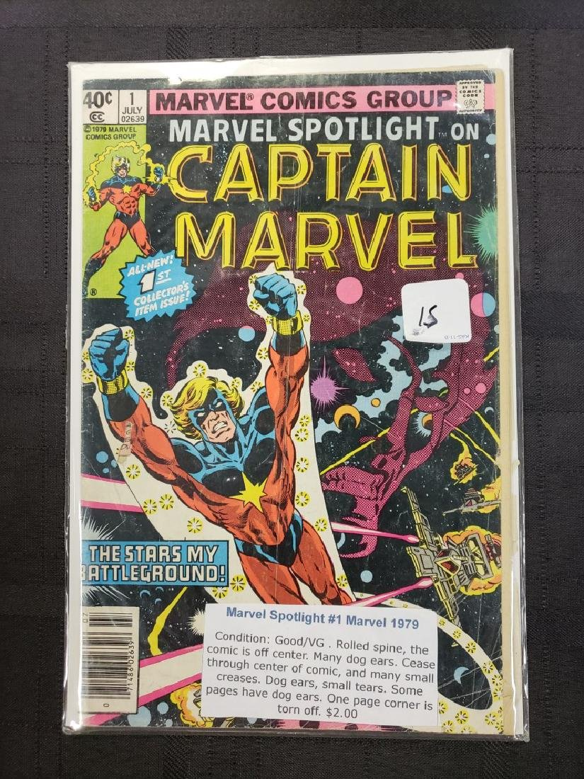 Marvel Spotlight on Captain Marvel July 1, 1979;