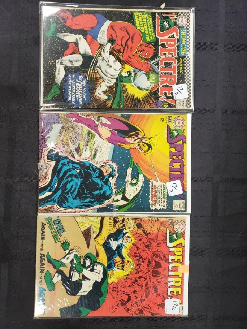 """Lot of Three DC Comic """"Spectre"""" including Feb #2 of"""