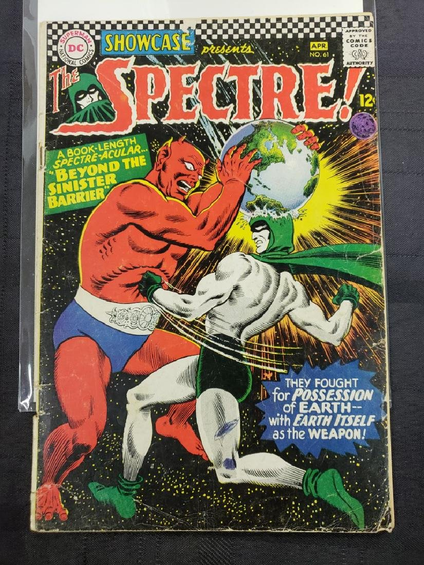 """Lot of Three DC Comic """"Spectre"""" including Feb #2 of - 3"""