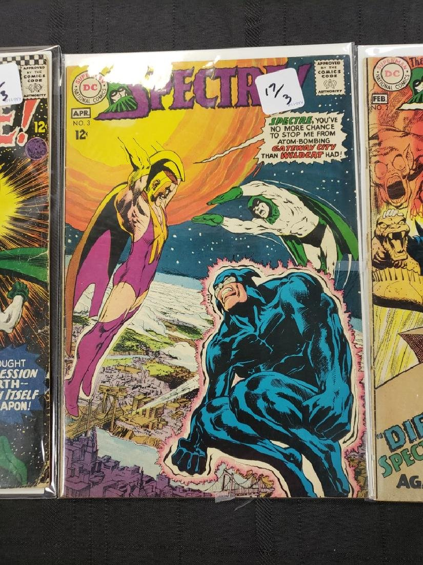 """Lot of Three DC Comic """"Spectre"""" including Feb #2 of - 4"""