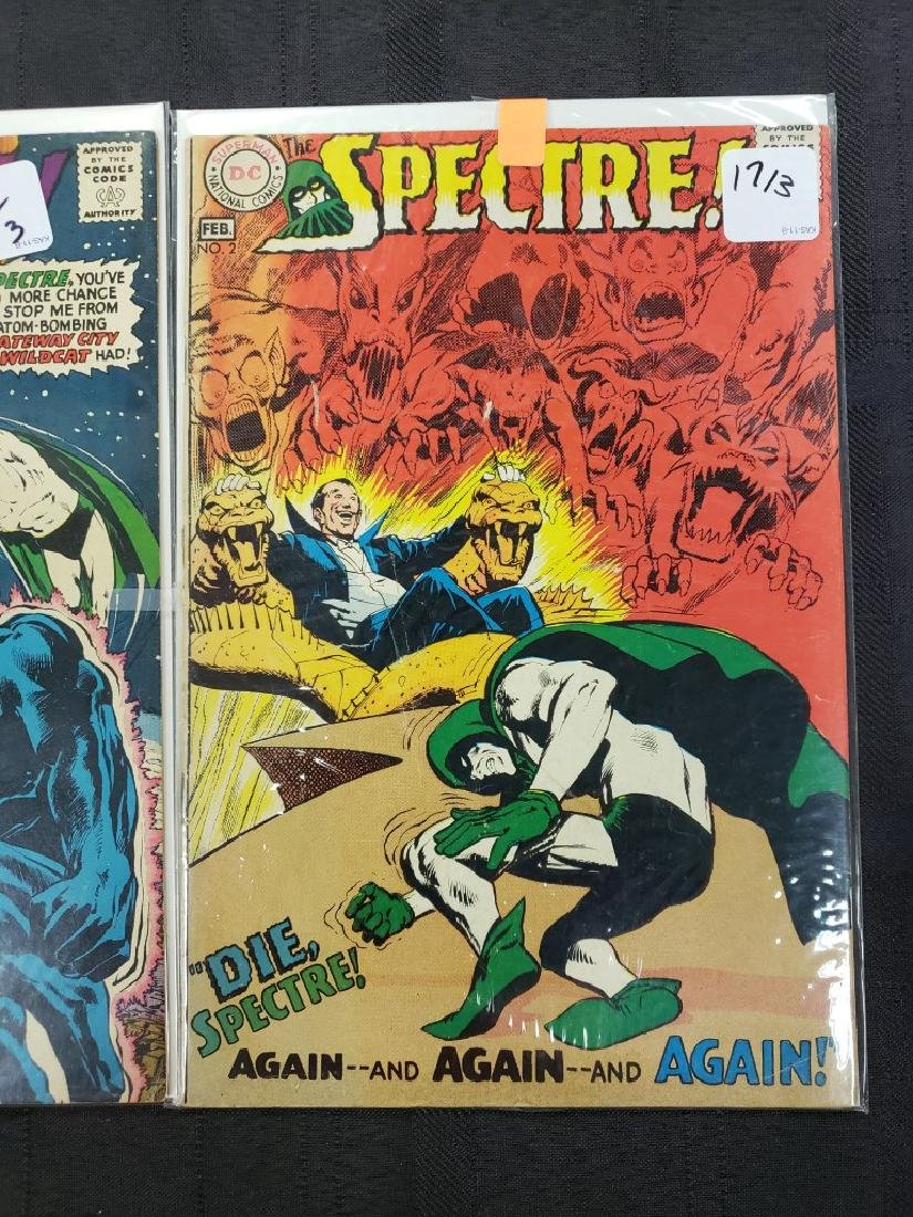 """Lot of Three DC Comic """"Spectre"""" including Feb #2 of - 5"""