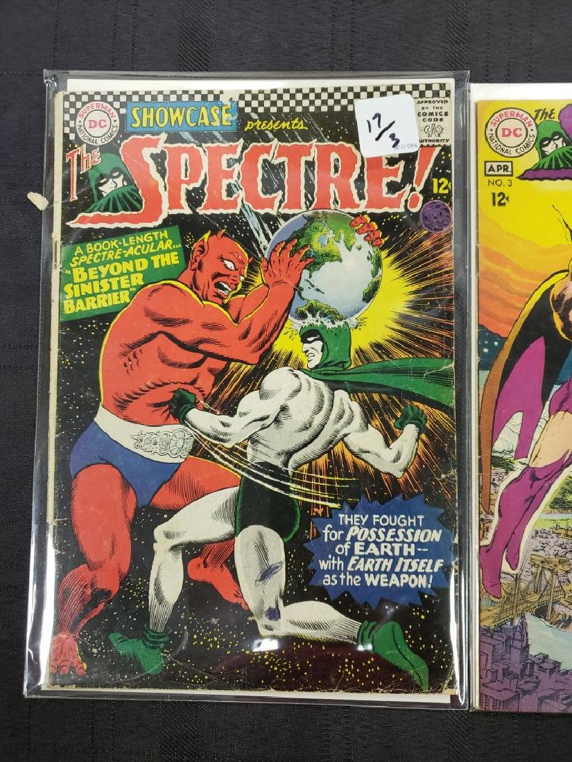 """Lot of Three DC Comic """"Spectre"""" including Feb #2 of - 6"""