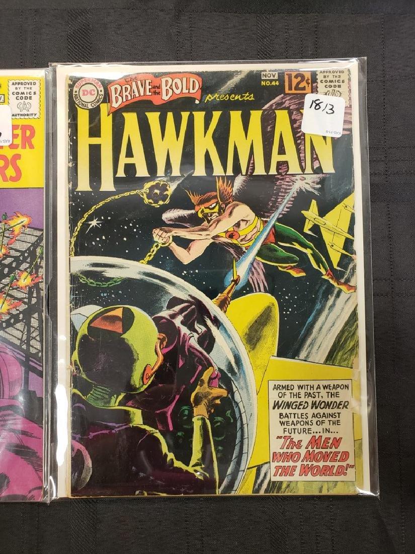"Lot of Three DC Comics ""Aquaman & Hawkman"" Jan. 1951, - 4"