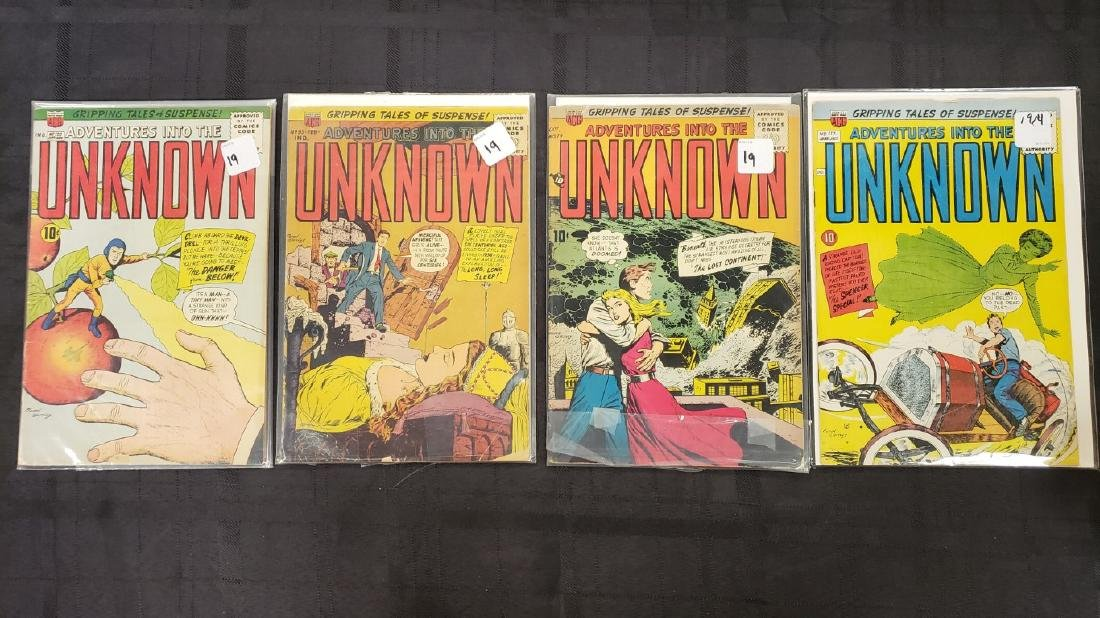 "Lot of Four American Comic Group ""Adventures of the"