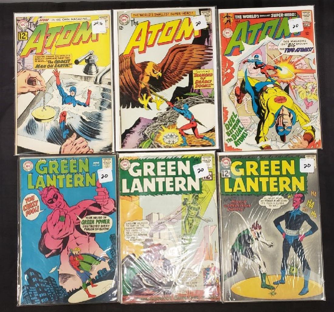 "Lot of Six DC Superman National Comics ""The Atom"" and"