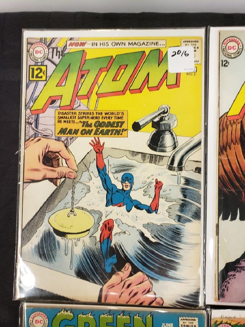 "Lot of Six DC Superman National Comics ""The Atom"" and - 2"