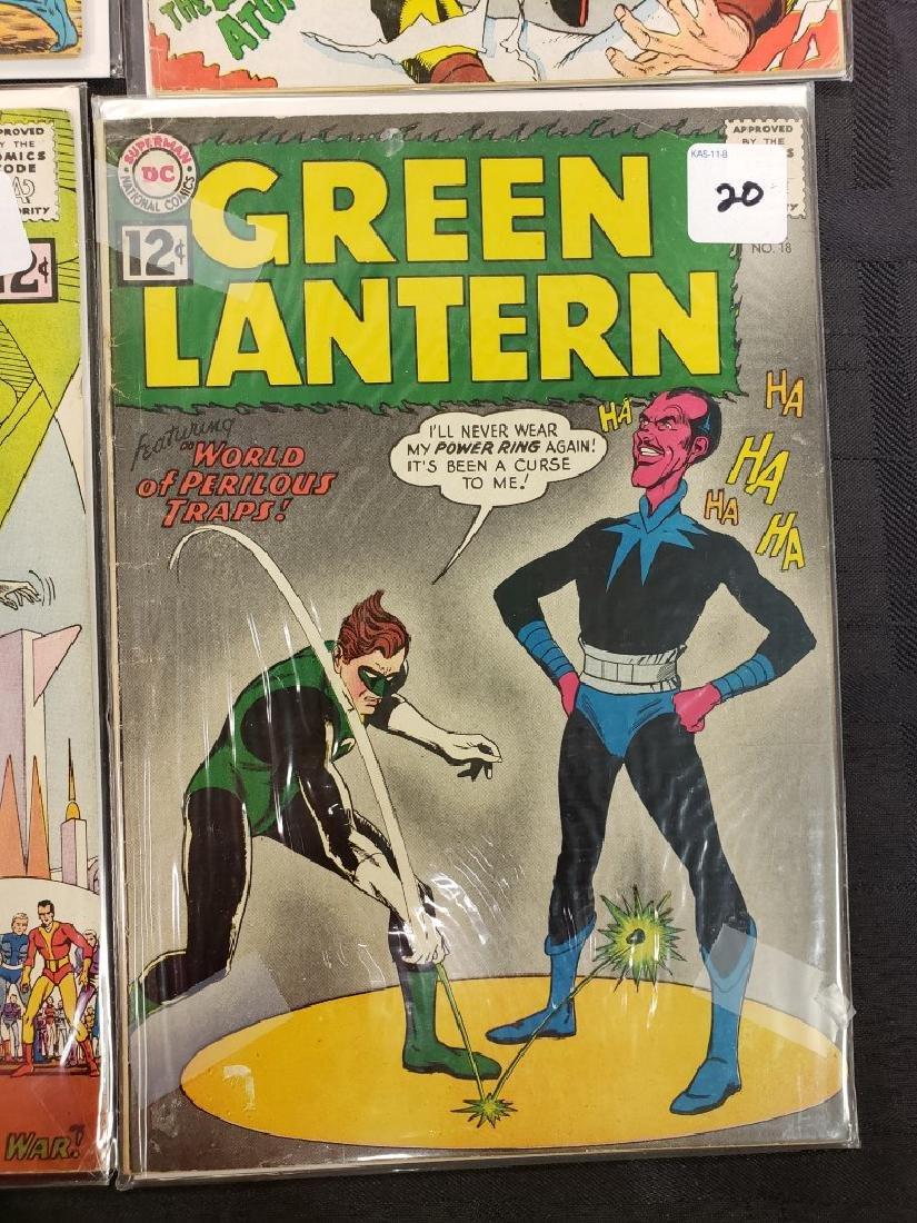 "Lot of Six DC Superman National Comics ""The Atom"" and - 5"