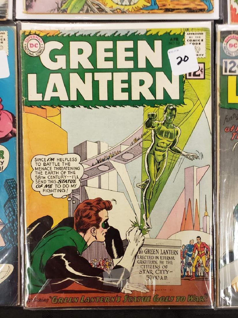 "Lot of Six DC Superman National Comics ""The Atom"" and - 6"