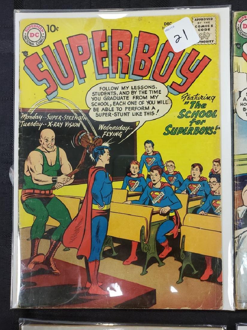 "Lot of Six DC Superman National Comics ""Superboy""; - 2"