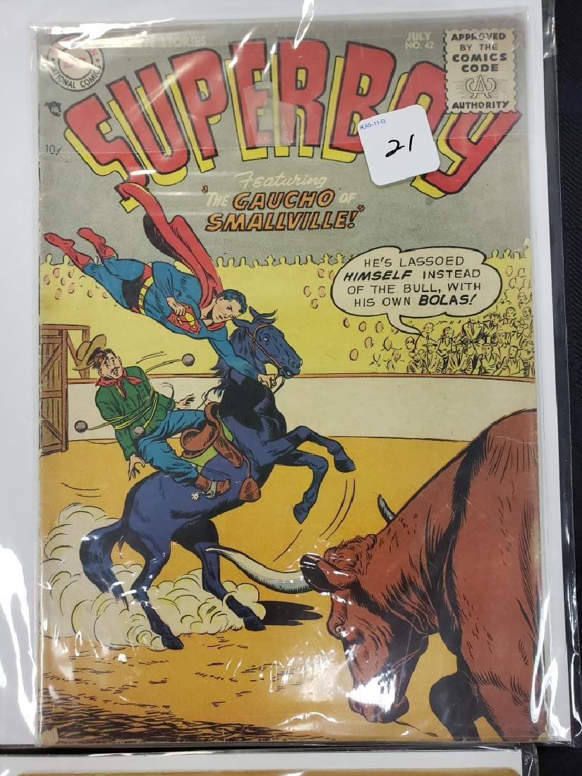 "Lot of Six DC Superman National Comics ""Superboy""; - 4"