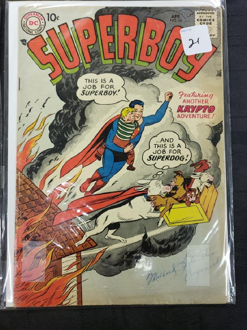 "Lot of Six DC Superman National Comics ""Superboy""; - 5"