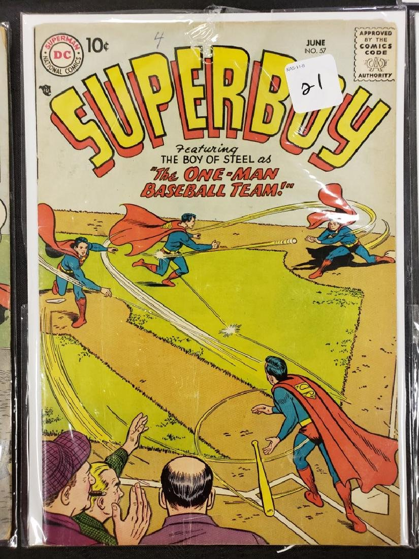"Lot of Six DC Superman National Comics ""Superboy""; - 7"