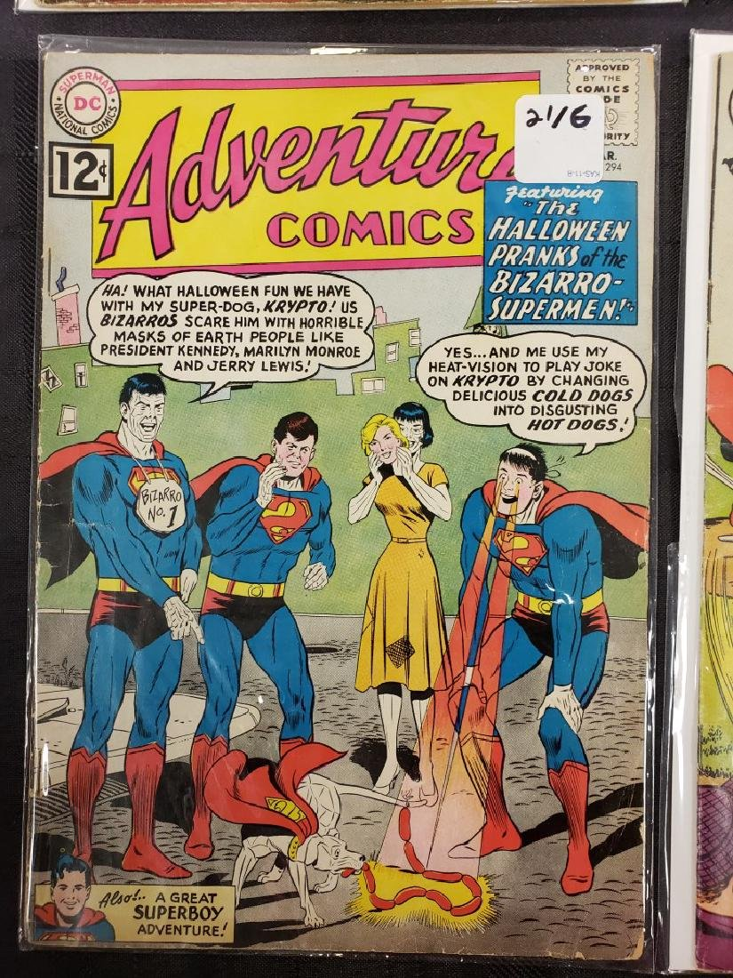 "Lot of Six DC Superman National Comics ""Superboy""; - 8"