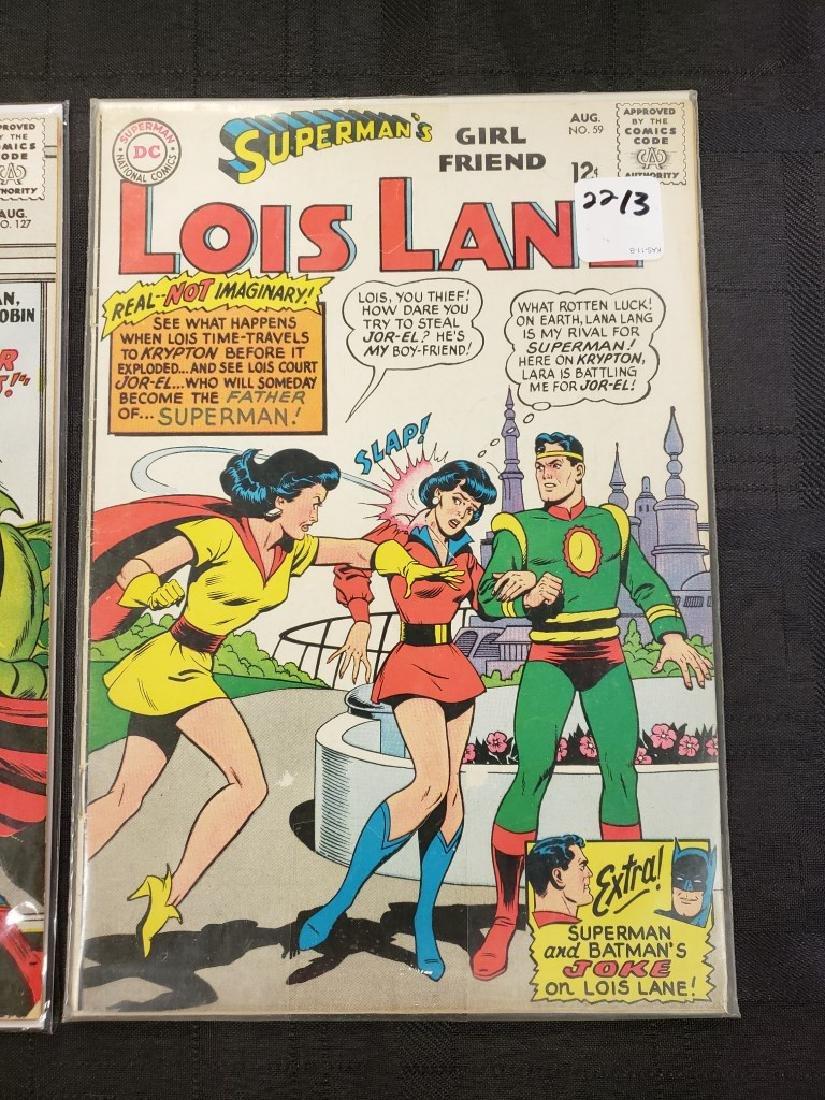 "Lot of Three DC Superman National Comics ""Lois Lane"" - 2"